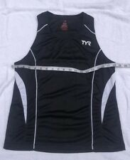 New Tyr Tank Top Size Large Black