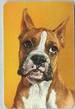 Swap Playing Vintage Card   Dog