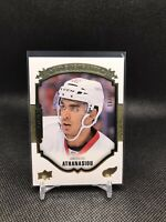 2015-16 Upper Deck Portraits Rookies Gold Andreas Athanasiou /99 Red Wings
