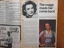 March 4, 1973 Chicago Tribune TV Week (JEAN  PETERS/EL  CARABALI/MUNDO  HISPANO)