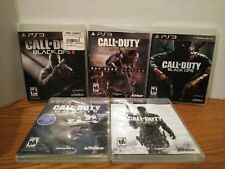 Call of Duty Black OPS Black OPS II Advance warfare Ghost and COD MW3 PS3
