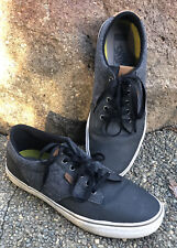 Vans Ortholite Mens Sz. 11 Sneakers Black Lace Up Low Top Round Toe 721356. $69