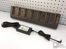 ST3006 PSION MOTOROLA ZEBRA 6-SLOT CRADLE SPARE BATTERY CHARGER OMNII XT15 RT15