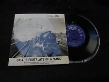 On the footplate of a king - ARGO Transcord train recording - 1961