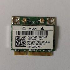 Original Dell DW1540 WLAN Karte / Netzwerkkarte BroadCom BCM943228HM4L