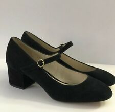 965ca1b86e20 LOUISE ET CIE Size 8.5W   38.5 Wide Black Suede Pumps Shoes