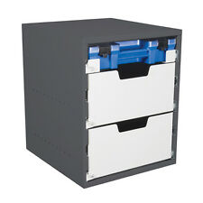 Van Shelving - 5 drawer cabinet - 1 Ezi-Pak case drawer, 2 deep drawer