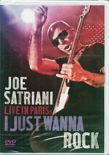 DVD ALL ZONE CONCERT--JOE SATRIANI--LIVE IN PARIS / I JUST WANNA ROCK