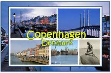 COPENHAGEN DENMARK  - JUMBO FRIDGE MAGNET - BRAND NEW
