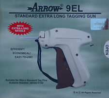 "Arrow Extra Long Neck Needle Tag Gun +1000 2"" Barbs Clothing Price Label Tagger"