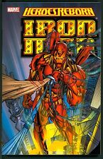 Heroes Reborn Iron Man ~ Marvel Trade Paperback ~ 2006 ~ Jim Lee