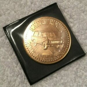 Range Rover Classic 20th Anniversary Commemorative Coin 1970 - 1990