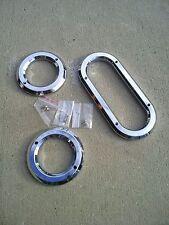 Cobra Kit Car Roll Bar Grommet Chrome