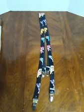 My Little Pony Friends Character Suspenders Black 2015