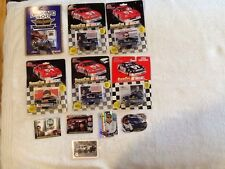 NASCAR Collectors Special 6 Carded Die Cast Cars/4Trading Cards