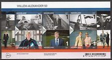 Nederland 2017 Blok 3535 Koning Willem-Alexander 50 jaar - Royalty