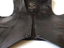 Rocky Mountain Hides Genuine Cowhide Motorcycle Vest Men's XL
