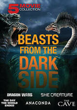 Beasts from the Darkside: 5 Movie Collection (DVD, 2016, 2-Disc Set)