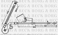 BBH7843 BORG & BECK BRAKE HOSE FRONT RH fits Peugeot 407 02/06-05/07
