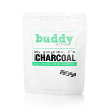 New Body Exfoliating Natural Activated Charcoal Body Scrub Bath Shower