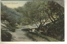An Early Post Card of The Park, Wallsend. Northumberland.