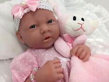 BERENGUER LA NEWBORN AC BABY GIRL DOLL+ MAGNETIC DUMMY  PLAY OR REBORN