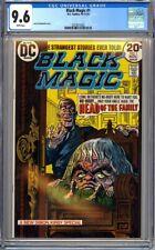 DC COMICS BLACK MAGIC #1 CGC 9.6 WHITE - NM+ JACK KIRBY JOE SIMON 1973 HORROR