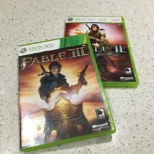 Xbox 360-Fable II und Fable III von Microsoft Game Studios (PAL, 2008, 2010)