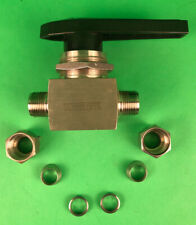 """Whitey 1/2"""" Stainless Compression Ball Valve SS- 45S8 316"""