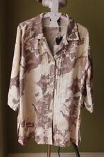 Linen Button Down Shirts for Women