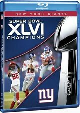 NFL Super Bowl Champions 46 XLVI Blu-ray New England Patriots vs New York Giants