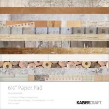 "KAISERCRAFT Scrapbooking 6.5"" Paper Pads - Documented - Nini's Things"