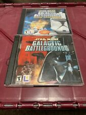 Star Wars Galactic Battlegrounds & Clone Campaigns Expansion Pack PC 95 98 2000