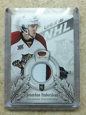 13-14 Panini Crown Royale Lords of the NHL Rookie Patch JONATHAN HUBERDEAU /10