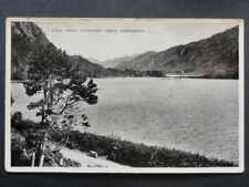 Ireland GALWAY Connemara, View from Kylemore Abbey - Old RP Postcard
