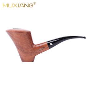 Handmade Straight Rosewood Tobacco Smoking Pipe 9mm Filter 10 Smoking Accessory