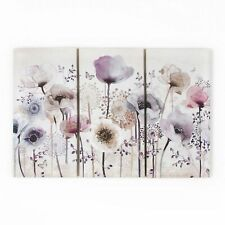 Art for the Home Classic poppy Trio Printed Canvas (Was £45)