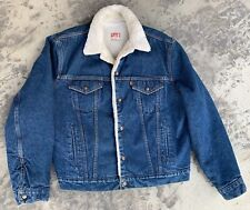Levis Sherpa Fleece Lined Denim Jacket 1970-A 7-0216 Mens Large - 48 Made In USA