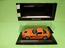 MINICHAMPS 113204 MERCEDES BENZ SLS AMG GT3 2011 - ORANGE 1:43 - NMIB