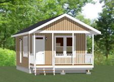 16x30 House -- 1 Bedroom  -- PDF Floor Plan -- 480 sq ft -- Model 4