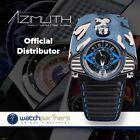 Azimuth GRAN TURISMO Motor Racing Theme Auto Watch 3ATM Blue Camo