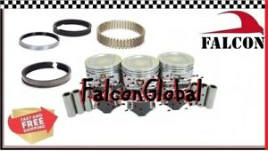 """Jeep 4.0 242 Sealed Power Hypereutectic Pistons+MOLY Rings Kit 1996-06 +.030"""""""