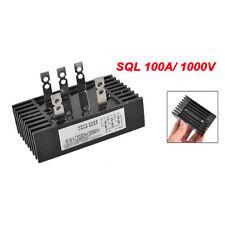 SQL 100A 1000V-Amp 3-Phasen-Diode Metallgehaeuse Brueckengleichrichter DE