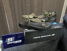 BN Men's Skechers Memory Foam Flex Advantage Sandals UK Size 8