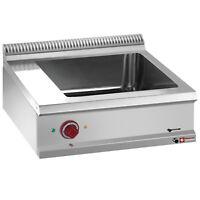 Modular Elektro Bainmarie Warmwasserbad Speisenwärmer 800x700x280mm Gastlando