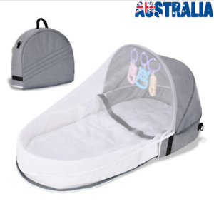 3in1 Portable Baby Infant Mosquito Nets Bed Cot Mattress Foldable Home Travel OZ