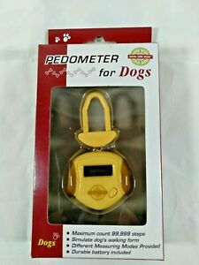 Good Life Gear Pedometer For Dogs Counts Steps New in Package Dog Health