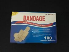 100 X AEROPLAST FIRST AID BAND AIDS ASSORTED TRANSPARENT WATERPROOF DRESSINGS