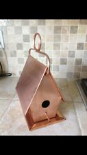 Copper Bird House w/ Removable Bottom  /  Hanging