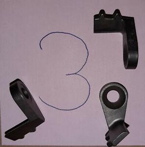 3 Vorschubfinger (Vorschubklinke)  für Vollmer Liliput Absetzschleifmaschine